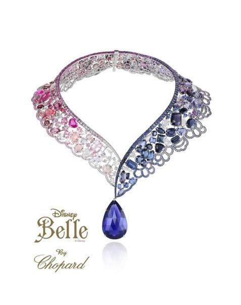 18e10197a80 Coleção de jóias da Chopard para o Natal da Harrods inspirado nas princesas  da Disney!