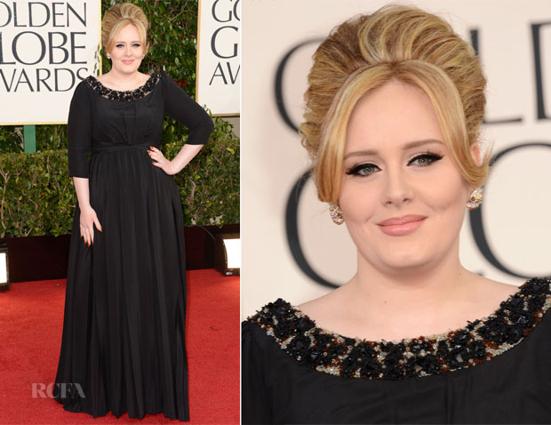 Adele veste Burberry