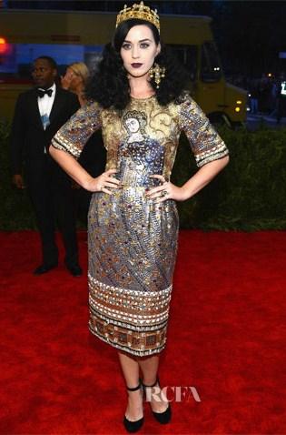 Katy Perry em Dolce & Gabbana