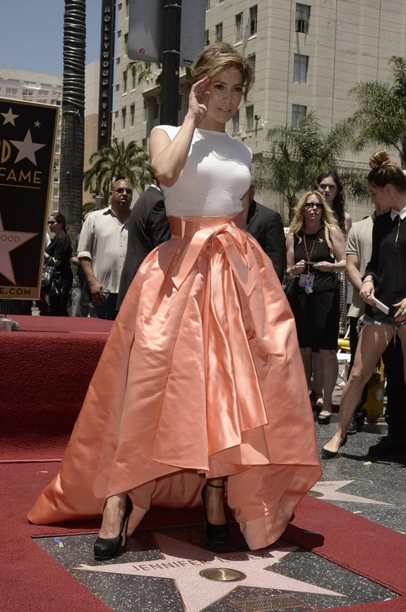 Jennifer Lopez_calçada da fama