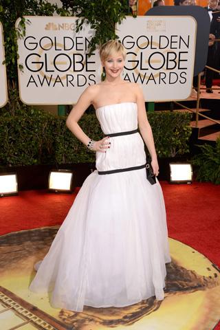 Jennifer Lawrence veste Dior Haute Couture