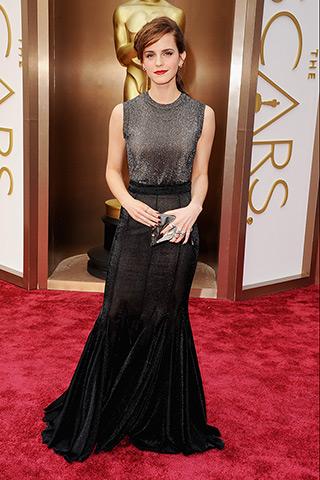 Emma Watson veste Vera Wang