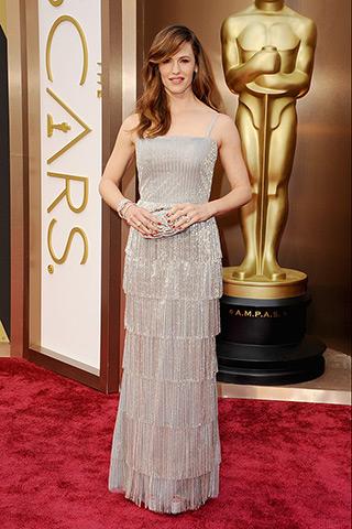 Jennifer Garner veste Oscar de la Renta.