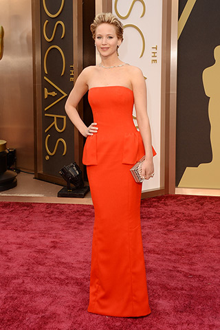 Jennifer Lawrence veste Dior Haute Couture