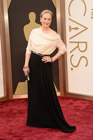 Meryl Streep veste Lanvin.