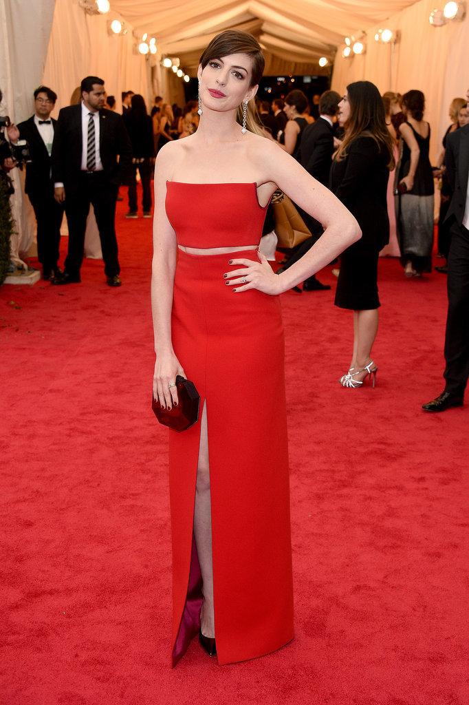 Anne Hathaway em Calvin Klein