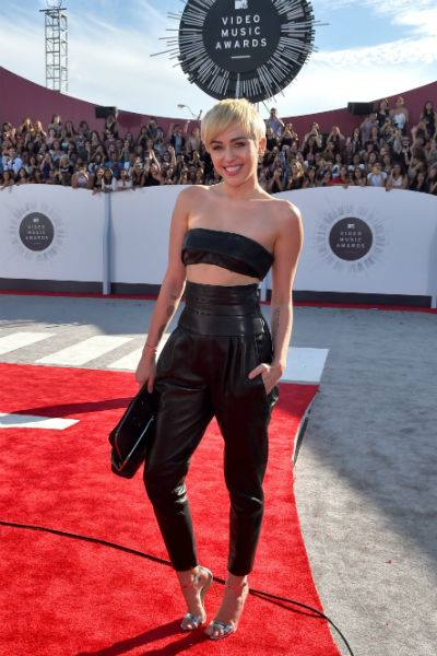 Miley Cyrus In Alexandre Vauthier Couture 1