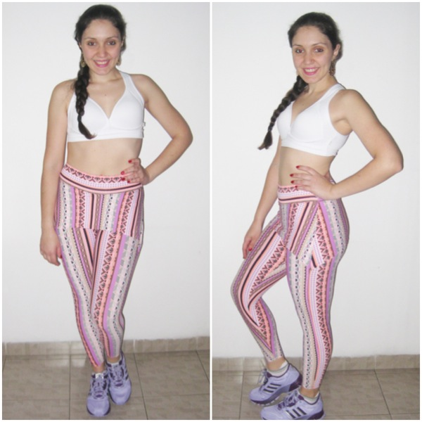 Legging Alicia e Top Summer
