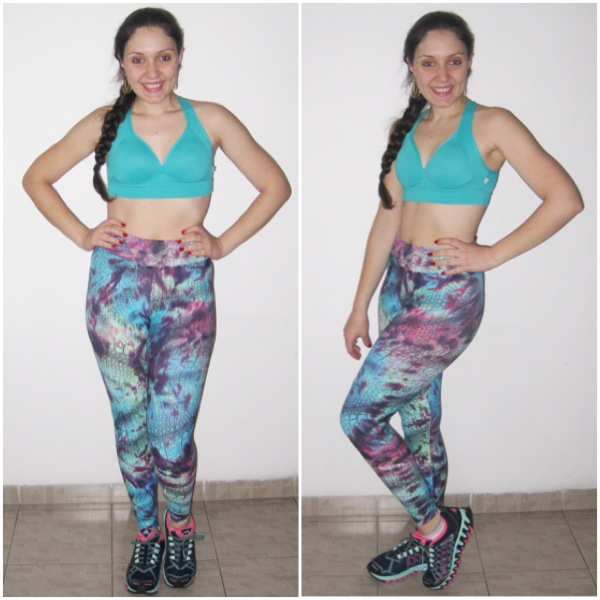 Legging Trinity e Top Summer