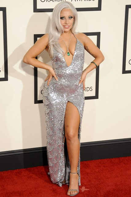 Lady Gaga em Brandon Maxwell